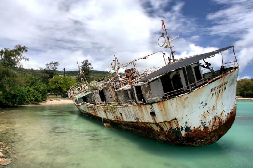 Schiffswrack |  Bild: © Wayne [CC BY-NC-ND 2.0]  - flickrSchiffswrack