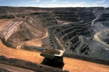 Steinkohlentagebau