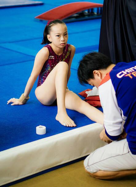 Kindersport als KinderarbeitOft werden Kinder in China schon früh zu Leistungssport gedrängt |  Bild: ©  moetaz attalla [CC BY 2.0]  - FlickrKindersport als Kinderarbeit
