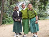 Kinder, Afrika, Schule