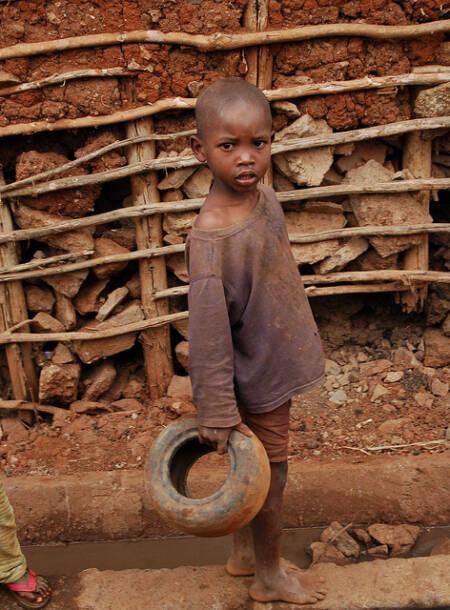 Kind auf Haiti |  Bild: © Feed My Starving Children (CC BY)Kind auf Haiti