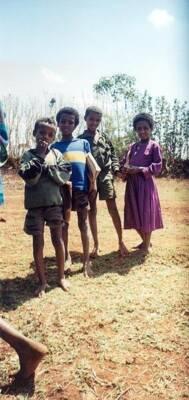 Die Schuhputzer von Äthiopien