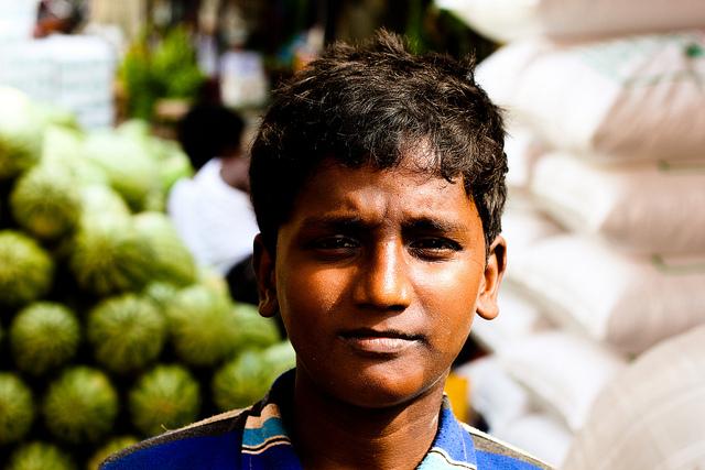 Kinderarbeit Melonen |  Bild: ©  Shafiu Hussain [CC BY 2.0]  - flickrKinderarbeit Melonen
