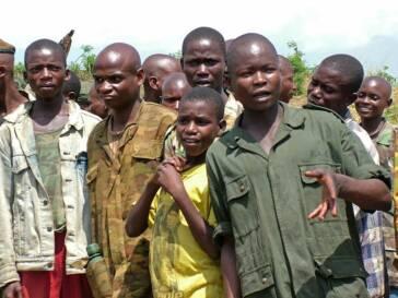 Ehemalige Kindersoldaten in Afrika