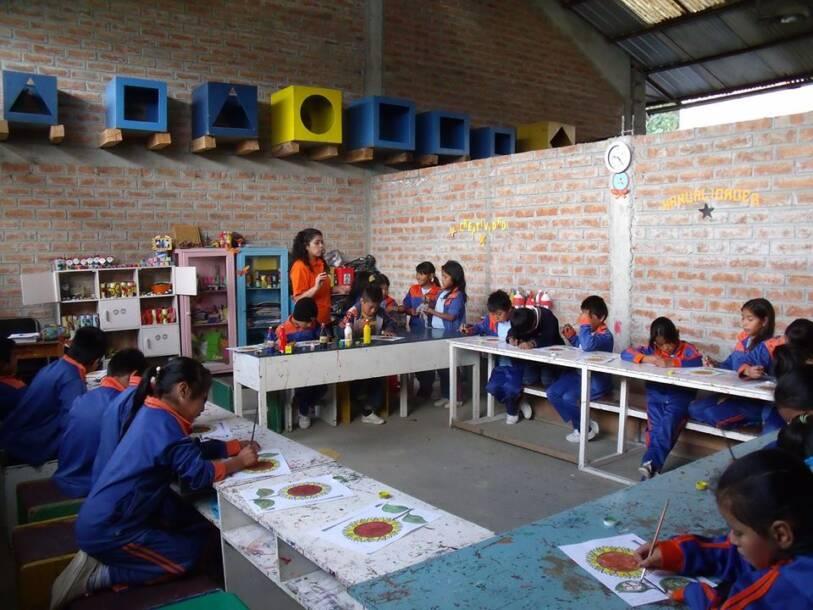 Cisol suiza, Ecuador, Schule Educare |  Bild: © Cisol Suiza - Cisol Suiza
