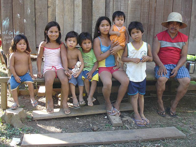 Bolivien, Kinder, Familie |  Bild: © Viaje a Bolivia - Wikimedia