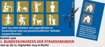 1. Bundeskongress der Straßenkinder in Berlin