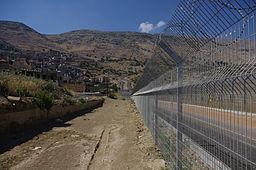 Majdal Shams border