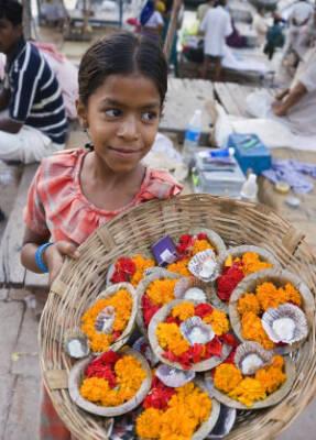 Indien: Sophie kann nur in ihrer Mittagspause zur Schule gehen