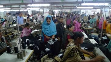Die Textilindustrie in Bangladesh