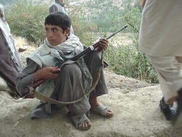 Kindersoldat aus Afghanistan