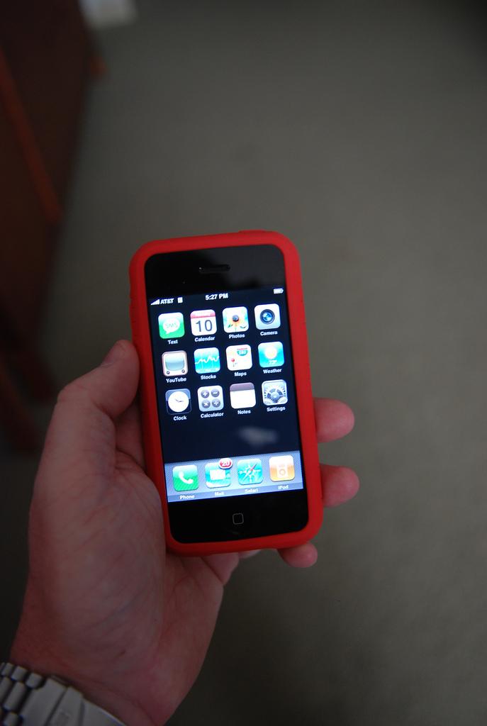 iphone  Bild (Ausschnitt): © Josh Hallett [CC BY-SA 2.0]  - flickr.com