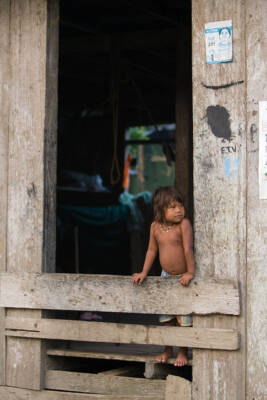 Kind in Lateinamerika