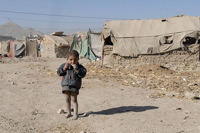 RefugeeFlüchtlingskind in einem der Flüchtlingslager |  Bild: © Global Panorama [CC BY-SA 2.0]  - flickrRefugee
