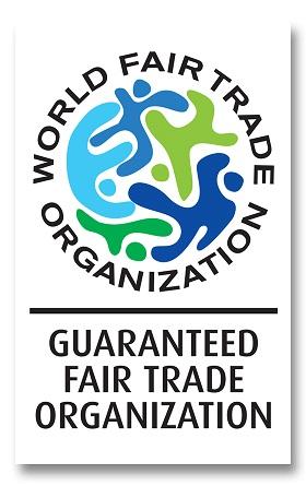 Das Label der WFTO für fairen Handel. | Bild (Ausschnitt): © n.v. [CC BY-SA 4.0]  - wikimedia commons