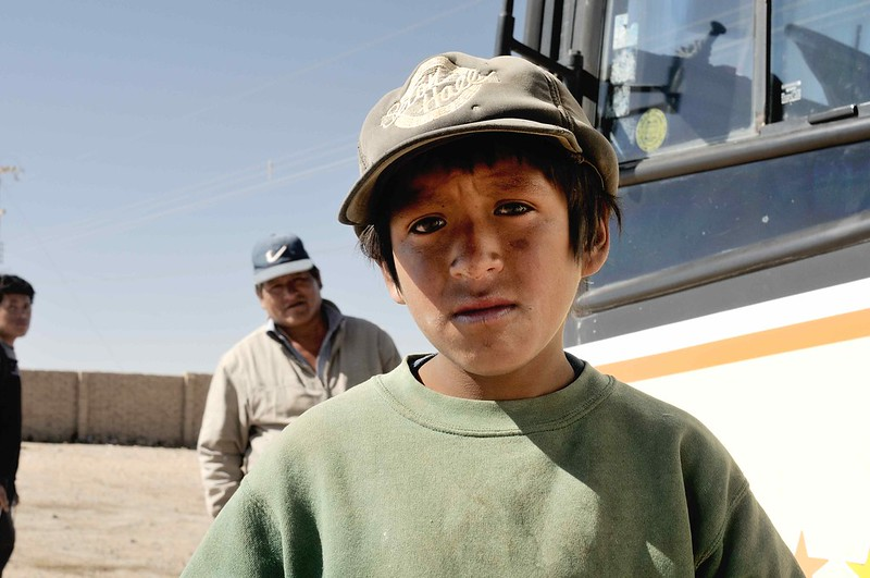 Kind in BolivienIn Bolivien ist Kinderarbeit an der Tagesordnung. Kindergewerkschaften setzen sich dort für die Bildung der Kinder ein    Bild: © M M [CC BY-SA 2.0]  - FlickrKind in Bolivien